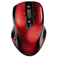 HAMA Wireless Laser Mouse Mirano Black-Red USB