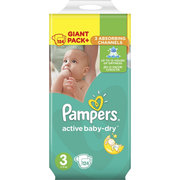 Pampers Active Baby-Dry 5-9 кг (124) фото